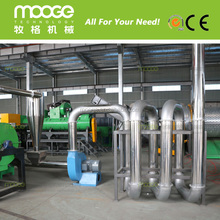 High quality hot air spiral pipe dryer machine