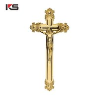 Plastic crucifix cross with Jesus for funeral accessories