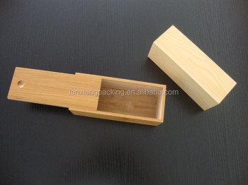 Wonderful Wholesale Small Wood Boxes,Lightweight Wood Box With Sliding Lid