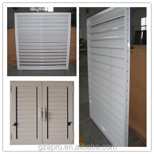 Material Aluminum Profile Operable Louvers Window Frames For ...