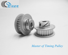 HTD 3M 27T Aluminum Clamping Hub Timing Pulley