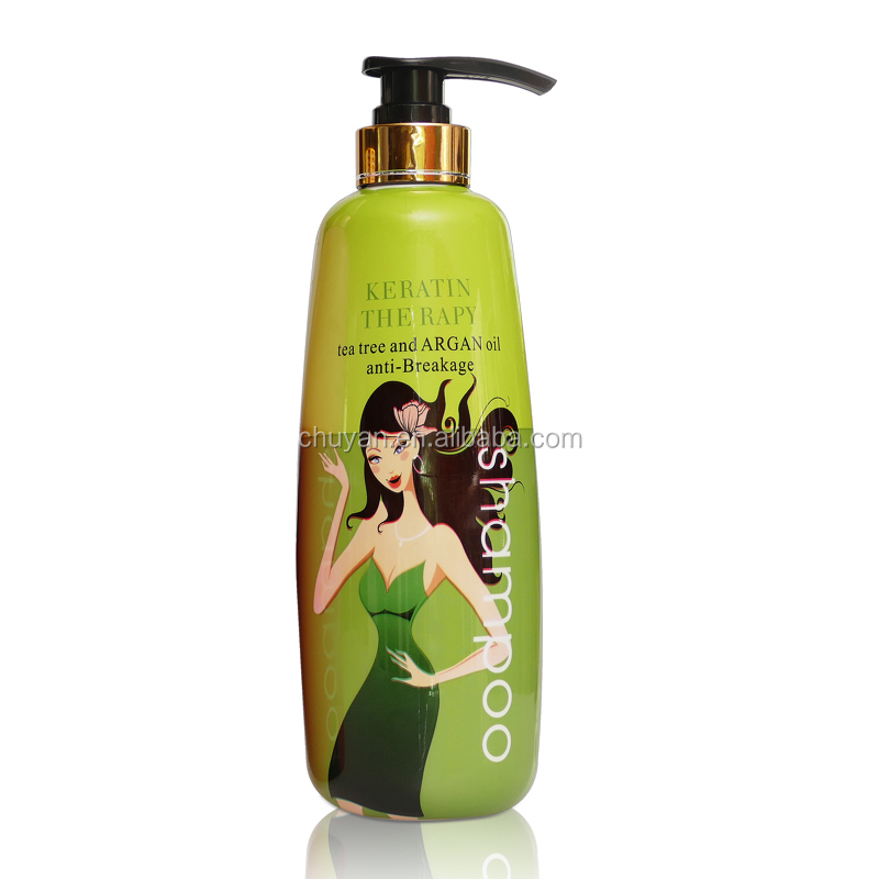 750ML OEM/ODM Smoothing hair treatment hair shampoo with collagen