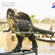 Outdoor Large Size Artificial Fiberglass Dinosaur Model Sculpture
