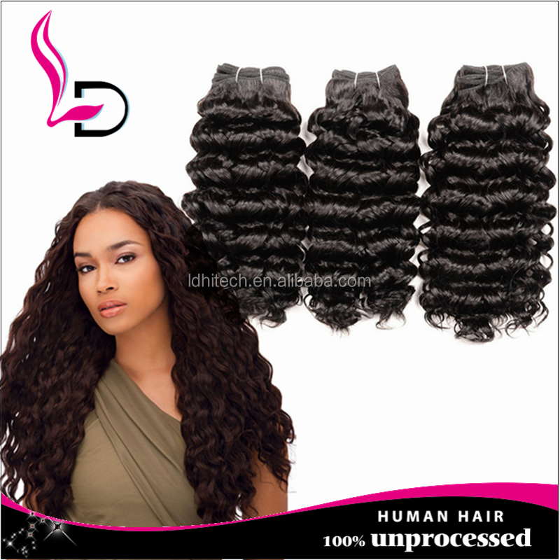 High Quality Human Hair Extension Brazilian Loose Deep Wave Hair