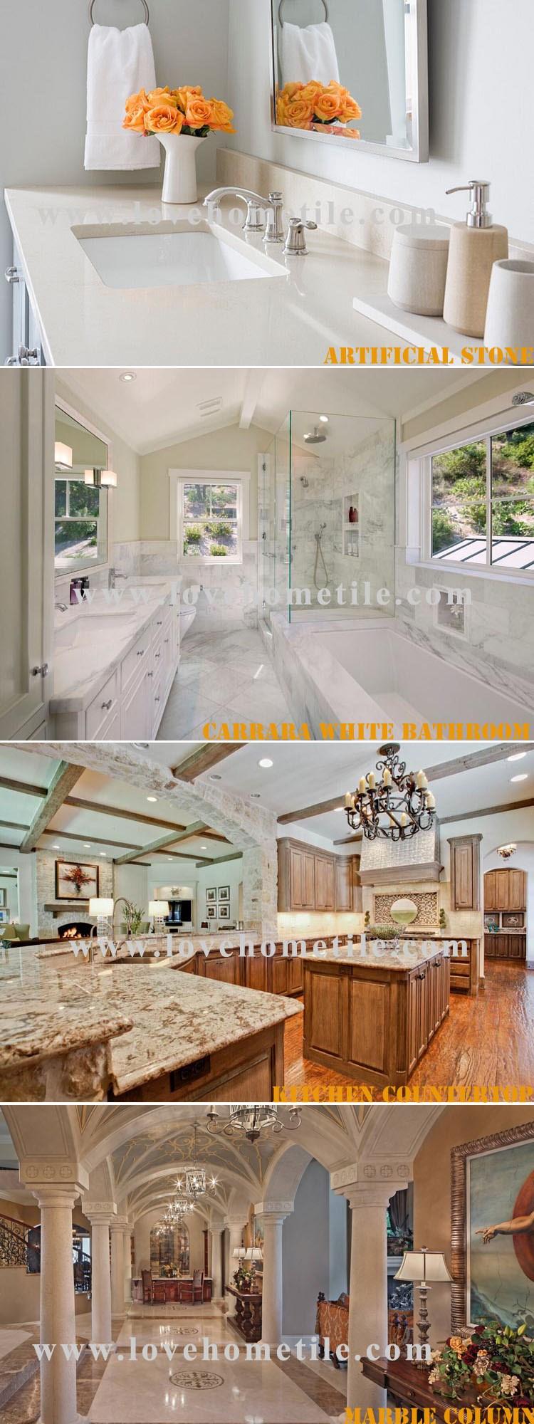 Chinese Supplier Marble Flooring Border Designs