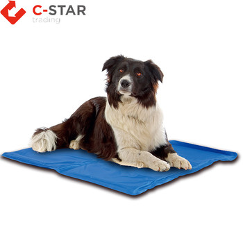 Pet supplies waterproof cooling gel mats for dog beds