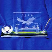 Crystal Office Stationery Set Desk Organizer School Supplies Crystal Pen Holder