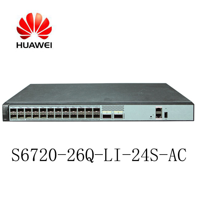 Huawei S6720-LI Series Next-Generation 24 Ports Simplified 10 GE Switches  S6720-26Q-LI-24S-AC, View 10 GE Switches, Huawei Product Details from