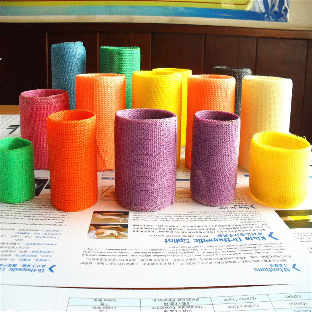 Colored cast - Medical Polymer Fiberglass Cast Colors Products