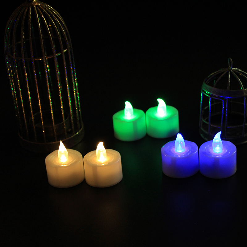 Ivory white wholesale led wax candle for home Decor unniversal thanksgiving holiday