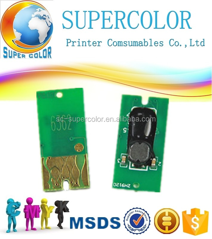 Supercolor Reset chip for Epson 7700 7900 7890 9700 9890 9900 printer ink cartridge chip