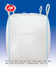 100% PP Woven ton bag 1 ton 1.5 ton for cement,fertilizer,flour,sugar