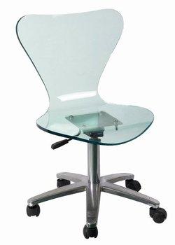 Acr lico silla giratoria de oficina buy product on for Sillas de acrilico