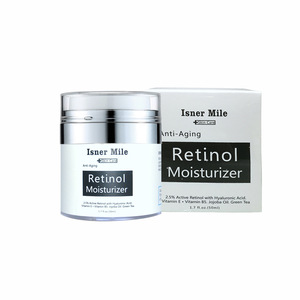 Retinol Facial Cream Fights The Signs Of Aging With Active Retinol and Hyaluronic Acid