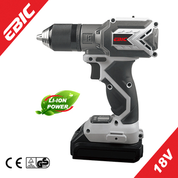 EBIC OEM power tools 18VBrushless Motor Lithium Cordless Torque Drill