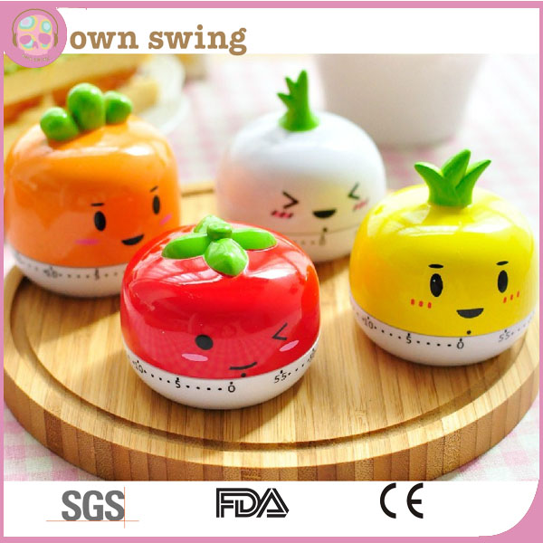 Cartoon Animal Kitchen Cooking Timer 60 Minutes/Mechanical Movement Kitchen Timer/Cute Kitchen Timer
