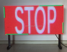 Outdoor Safety Dynamic Message Full Colour VMS Display Board Road Traffic Control LED Sign