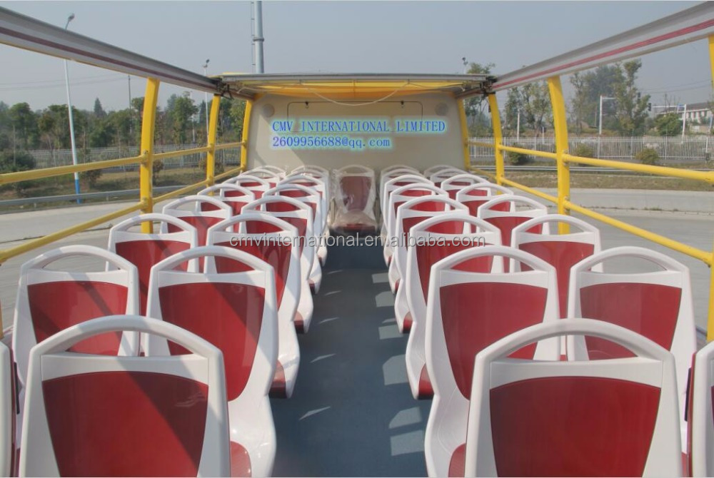 68 seaters open top hop-on hop-off city sightseeing bus