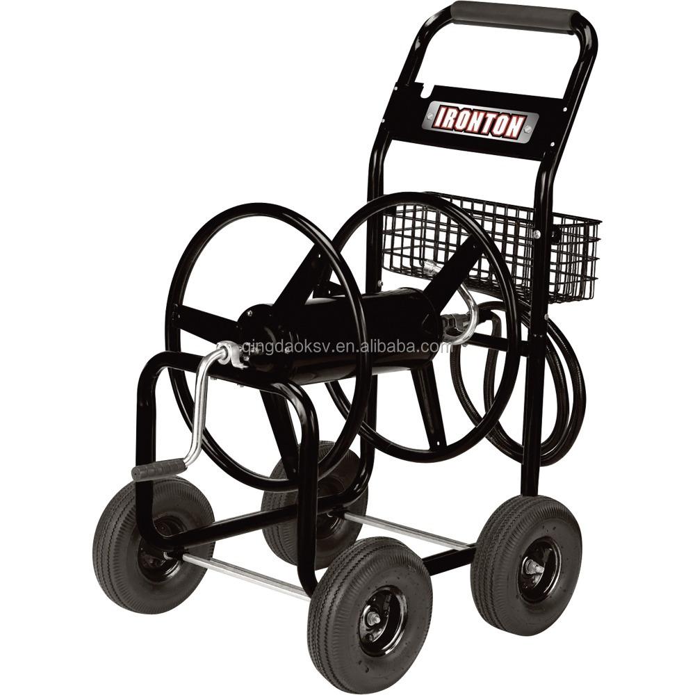 Best Garden Tool Cart Metal Garden Hose Reel Cart Garden Tools