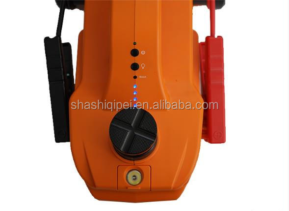 4 in 1 electric car jack with tire pump and jump starter