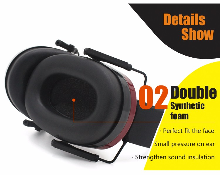 Custom Adjustable Length NRR 29 dB Sound Proof Baby Ear Muffs