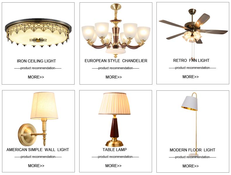 Hotsale ราคาถูกคุณภาพสูงโบราณออกแบบห้องนั่งเล่นพัดลมตกแต่ง Retro เพดานพัดลมไฟ