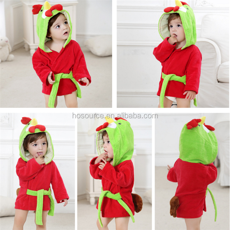 China Wholesale Baby Bathrobe Towel Hooded Kids Bathing Suits baby Bath Towel