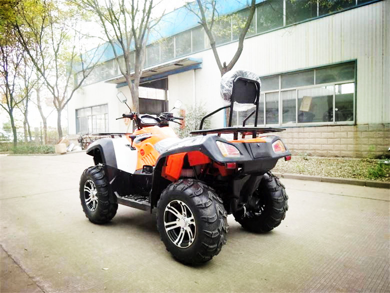Hot selling 4 wheels cheap dune buggy two seat shaft drive 400cc ATVwith epa&eec