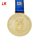 China manufacturer custom metal medal 3d logo sport medal copper embossed sport medallion