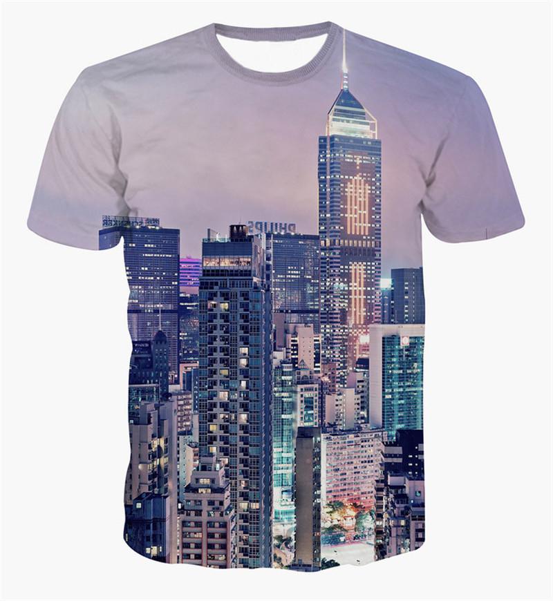 80b5dc455 Get Quotations · Alisister Newest 2015 Men women Hrajuku t shirt summer  graphics the city tee shirts funny