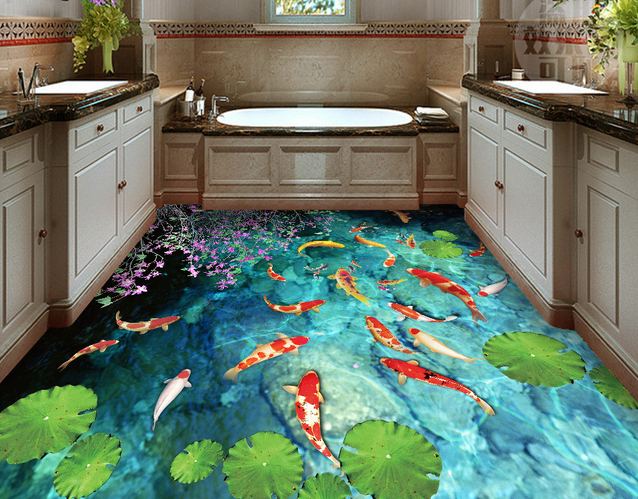 Lovely 3d Fish Picture For Bathroom Designs 3d Ceramic Floor Tiles Buy 3d Tiles 3d Ceramic