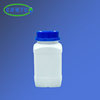 500ml Plastic reagent bottle with blue cover square bottle