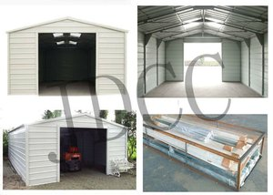 stainless light steel frame garage