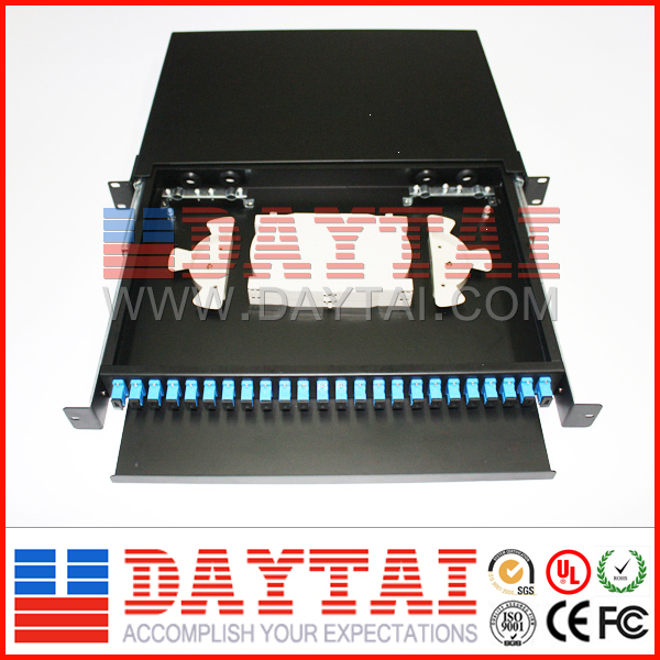 24Cores SC/FC/ST/LC Adapter ODF Distribution Frame
