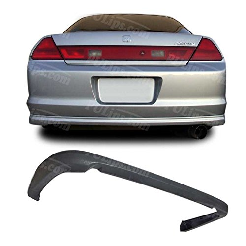 PULIps HDAC012OERAD - HFP Style Rear Bumper Lip For Honda Accord Coupe 2001-2002