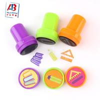 Customized LOGO High quality plastic Self Inking Stamp toy Cute Stamper for kids