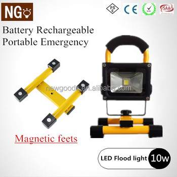 Portable Rechargeable Magnetic Base Led Work Light 10w Ce Rohs Pse ...