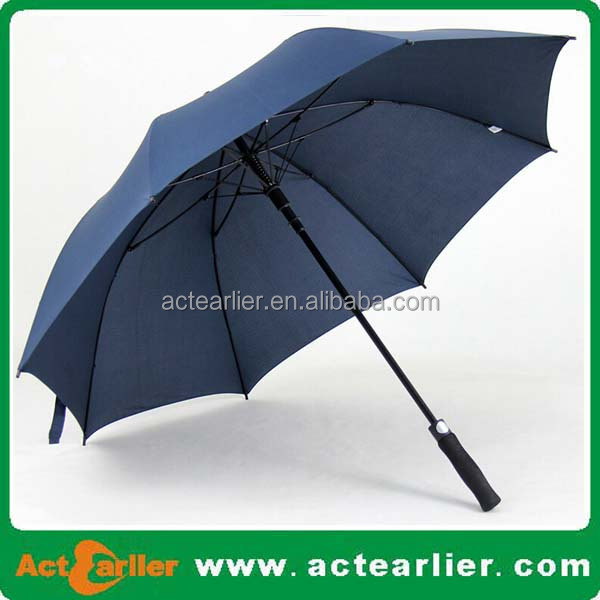 Custom Print 100cm long Straight Automatic open Big Promotion Umbrella