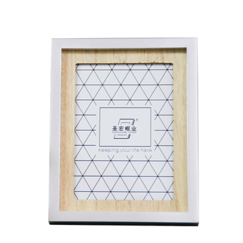 Wholesale art craft silver picture frame