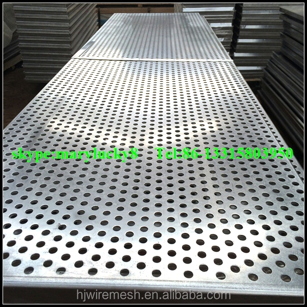 Perforated Metal Screen Facade Panel Exterior Perforated