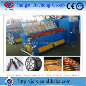 China Manufacturer Water Tank Used High Carbon Steel Wire Drawing Machine