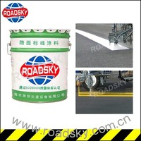 Security Cold Spray Road Traffic White Paint