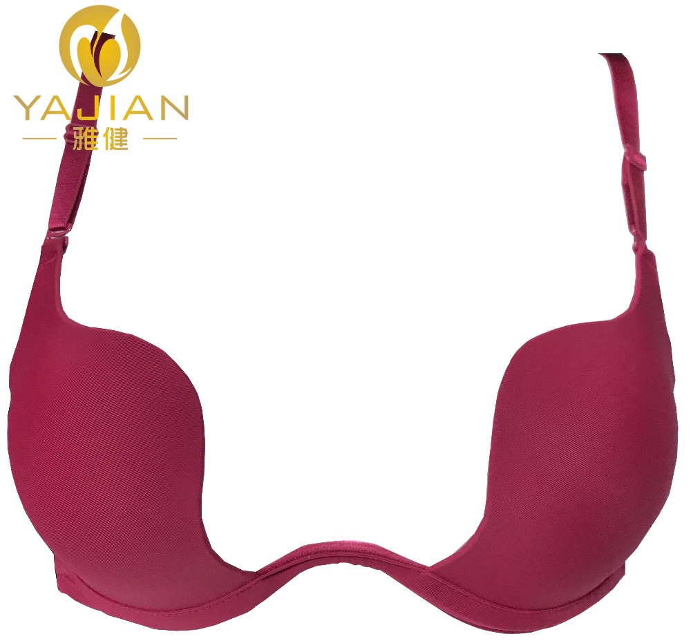 In stock & OEM best sale plunge cups sexi modern girl bra