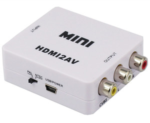 Wholesale 1080P HDMI To RCA HDMI To AV Converter