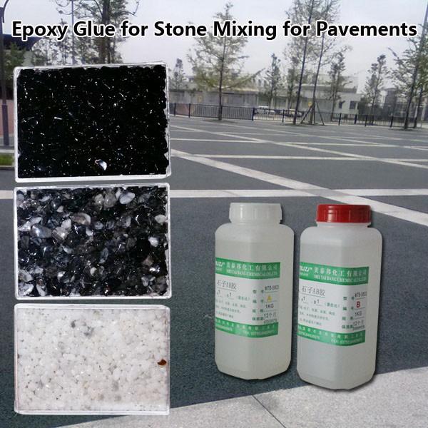 Pegamento de resina epoxi para la mezcla con piedras para - Pegamento para parquet ...