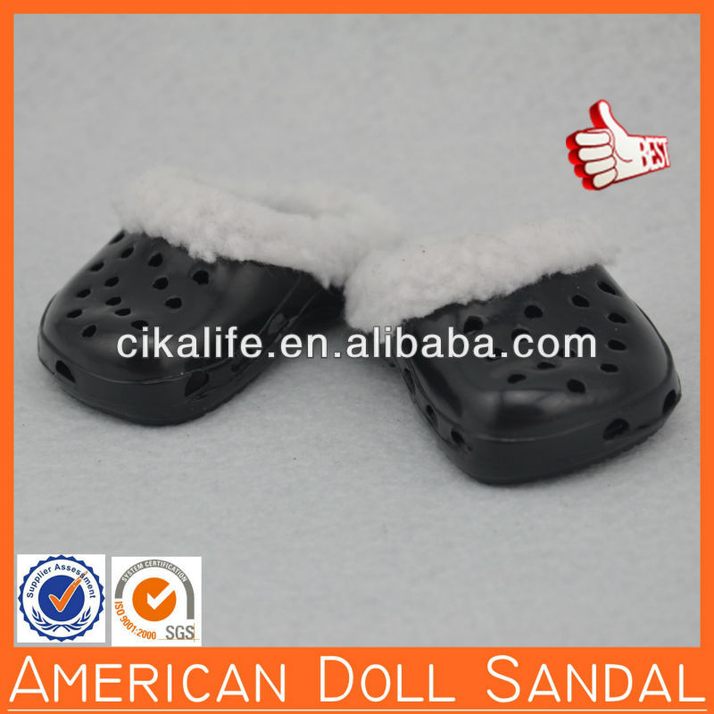 "18inch Cheap rosi 10.5"" doll sandal by CIKA"