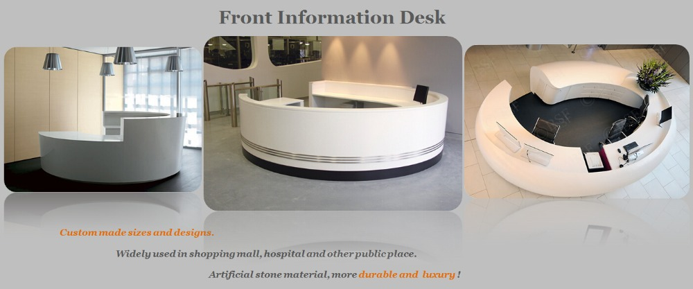 Curved Design White Marble Office Work Desk - Buy White Marble Office Work  Desk,White Marble Office Work Desk,White Marble Office Work Desk Product on