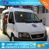 New condition Ambulance Medical Automobile ambulance vehicle for sale