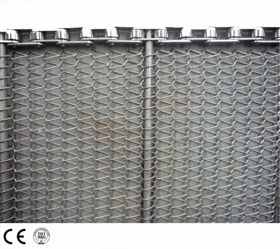 Hot Sale Bird Cage Spiral Wire Mesh Belt for Traditional belt accessories