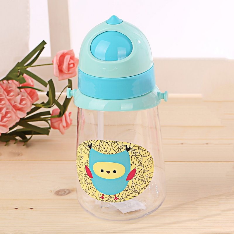 New 4 Color Children Portable Juice Water Bottle Twist Cover Cap With Straw Safe Drink Straw Sippy Cup Feeding For Kids Lustrous Nipple
